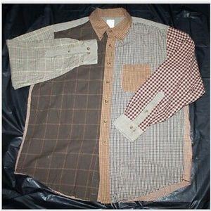 Brooks Brothers 1818 BrooksFlannel Long Sleeve Shi